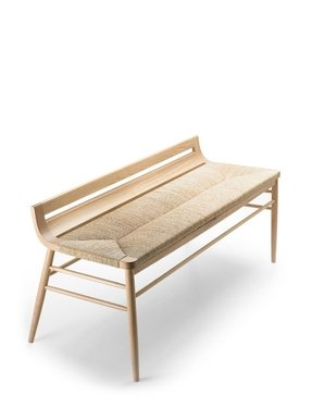 Rattan benches 1