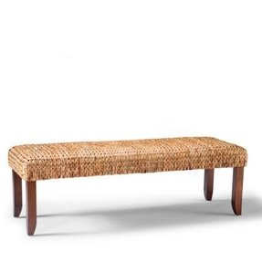 Rattan benches 3