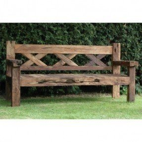 Rustic Teak Outdoor Furniture Foter - Teak picnic table and benches