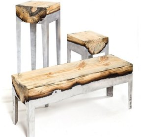 Resin benches 8