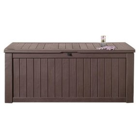 Rockwood 160 gallon wood deck box in