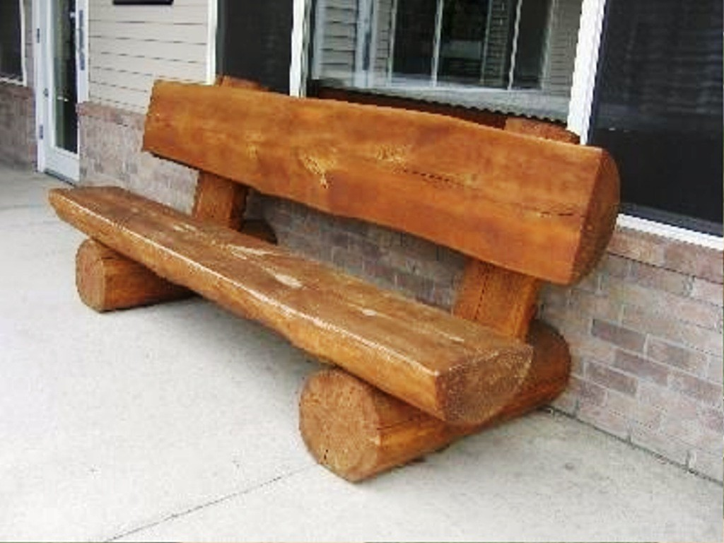 Wondrous Log Benches Ideas On Foter Download Free Architecture Designs Embacsunscenecom