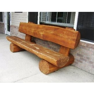 Log Benches Foter