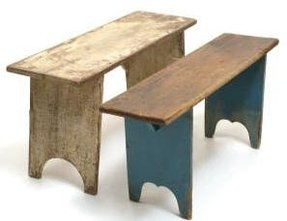 Shaker benches 1