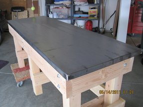 Steel work benches 13