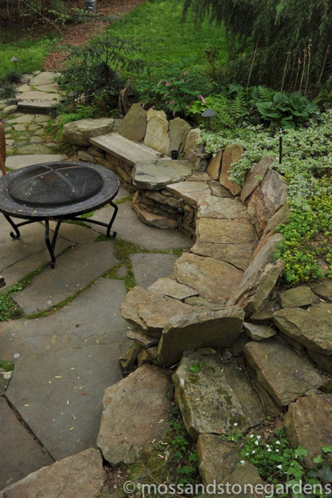Delicieux Made In Stone Benches Is A Beautiful Composition That Will Perfectly Work  In The Garden. The Whole Present Itself Phenomenally Anywhere In The  Backyard, ...