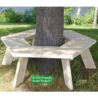 Tree bench plans free