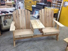 Twin adirondack chair plans