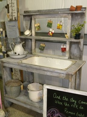Potting Benches - Ideas on Foter