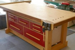 Wood work benches 3