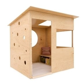 Indoor wooden playhouse foter for How to make a playhouse out of wood