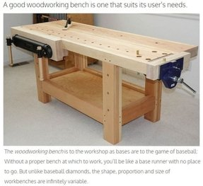 Wooden work benches 9
