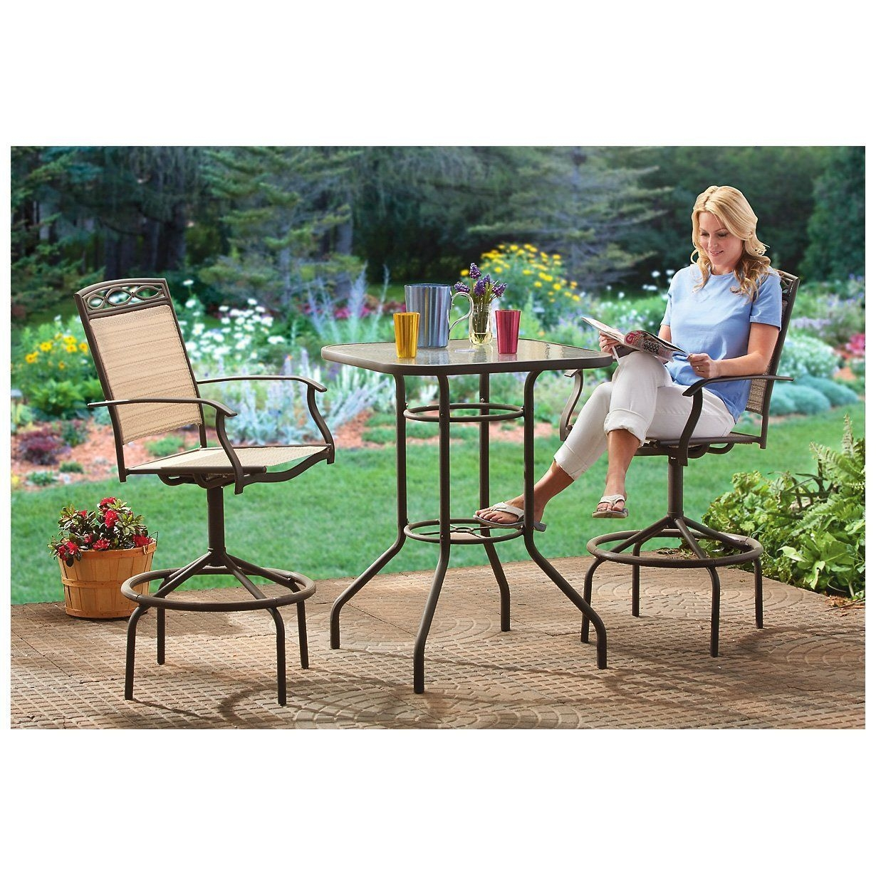 Bar Height Patio Furniture Sets 1