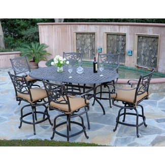 Pleasant Bar Height Patio Furniture Sets Ideas On Foter Download Free Architecture Designs Scobabritishbridgeorg