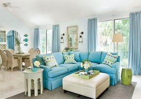 Blue Sofa Set Foter