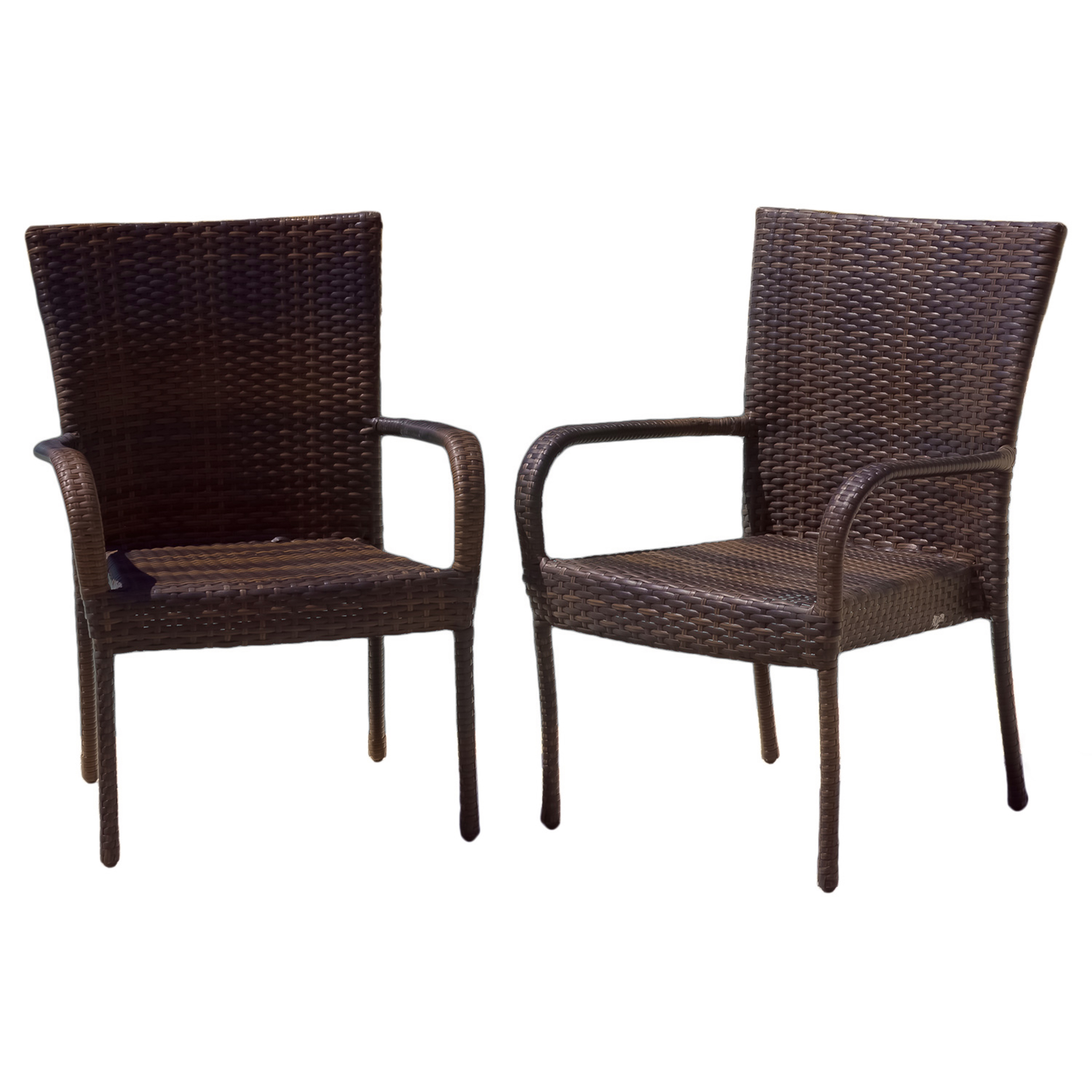 Best Selling Outdoor Wicker Chairs, 2 Pack