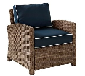 Wicker Outdoor Arm Chairs - Foter