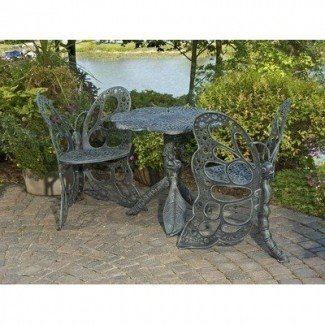 Butterfly Bistro Set Antique