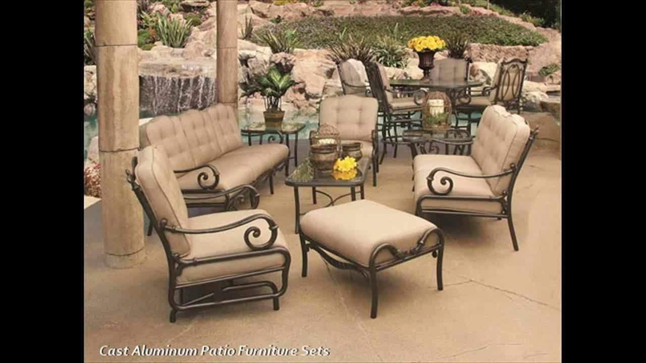 cast aluminum patio furniture sets foter rh foter com cast concrete outdoor furniture cast classics outdoor furniture