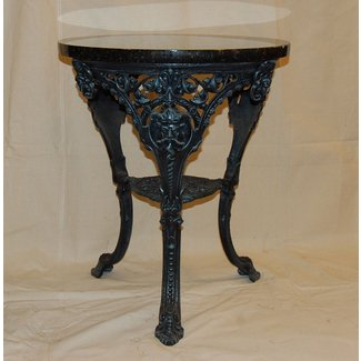 Cast iron king neptune table