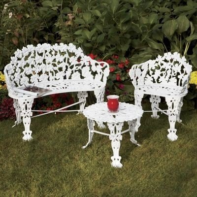 Delightful Cast Iron Outdoor Furniture