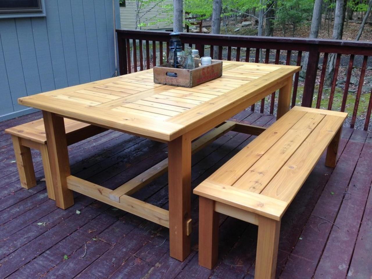 cedar patio tables ideas on foter
