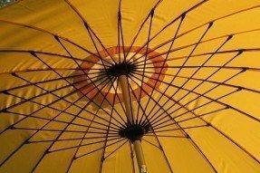 Double Vented Patio Umbrellas