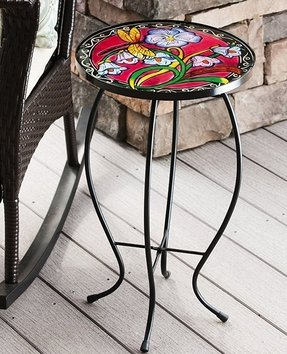 Evergreen Enterprises Exquisite Dragonfly Table