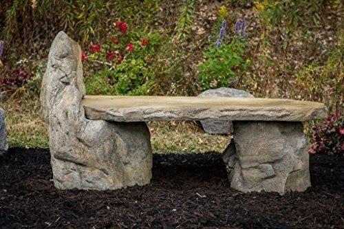 Stone Patio Benches