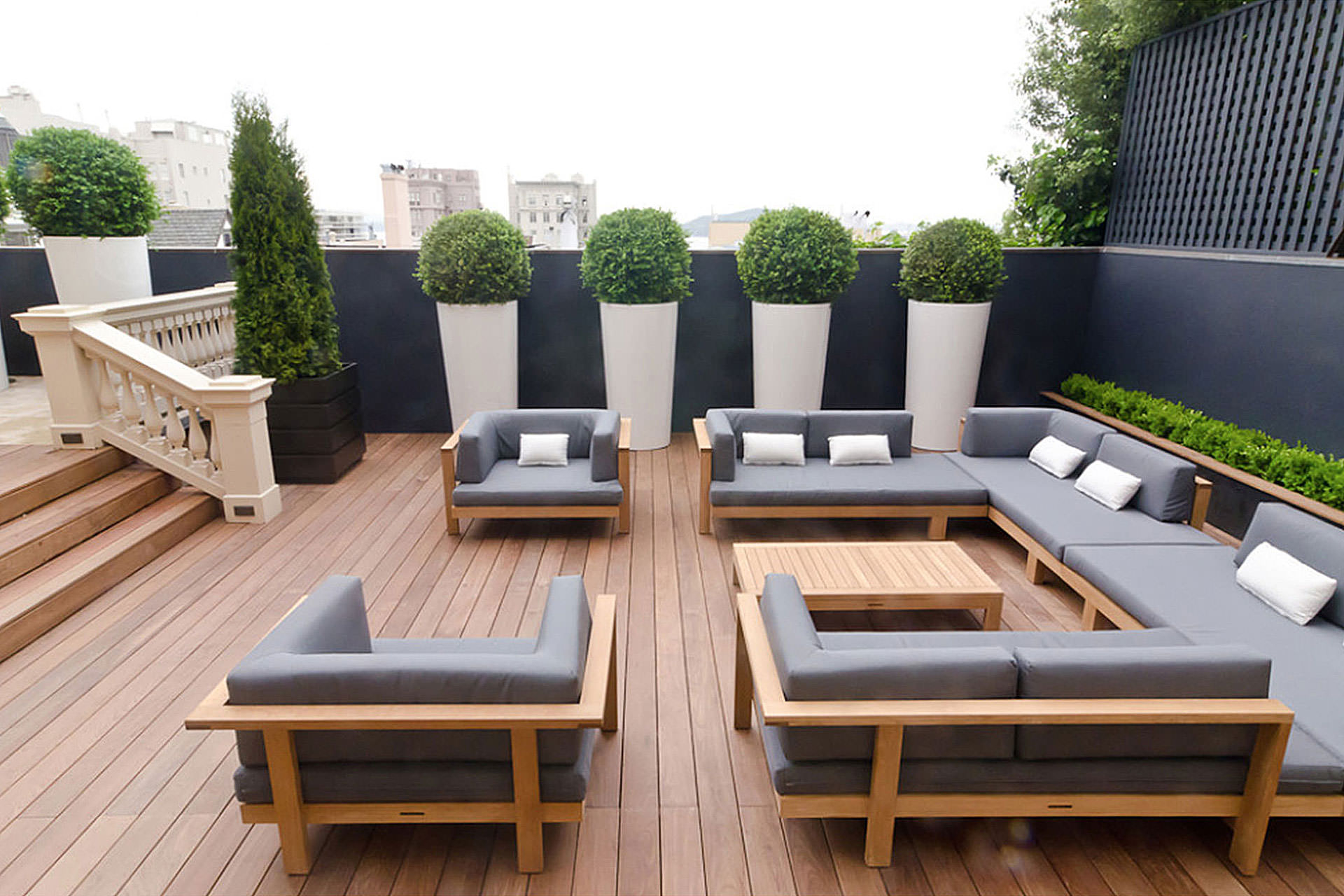 Grey Outdoor Cushions
