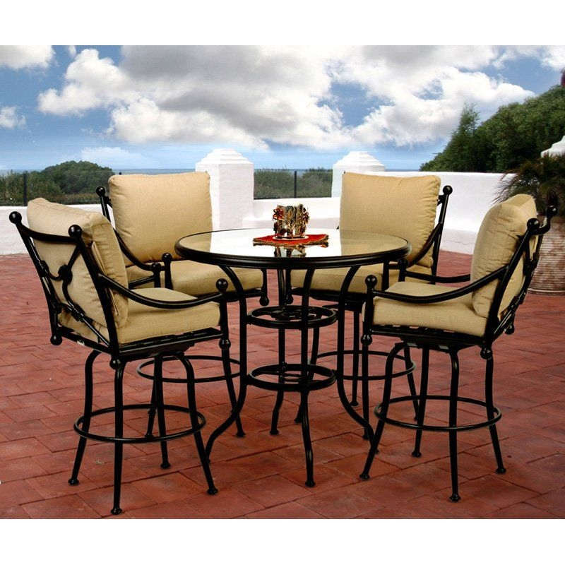 High Bistro Patio Set