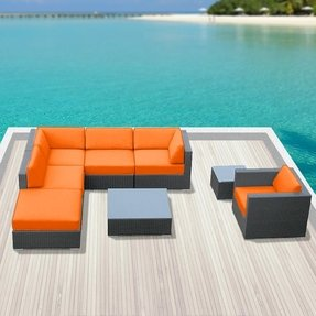 orange patio furniture sets foter