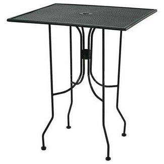 Wrought Iron Bar Height Table Ideas