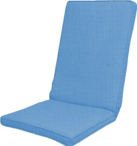 Paradise Cushions WD05HB High Back Chair Cushion With Box Double Welt  Design For Wood Furniture,