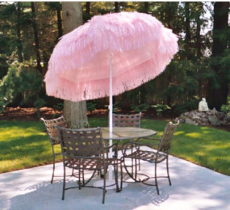 Pink Patio Umbrellas 10