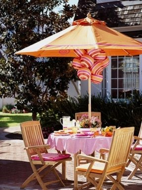 Pink patio umbrellas 15