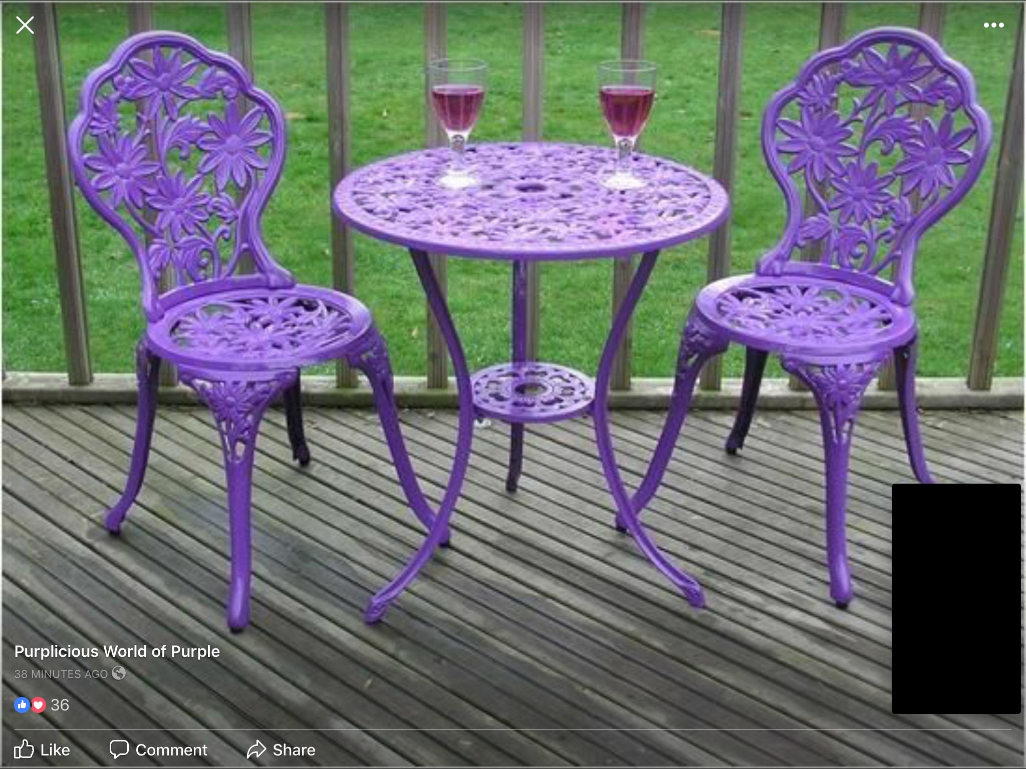 purple patio chairs foter rh foter com purple patio chair cushions Purple Camping Chair