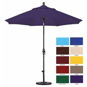 Purple patio umbrellas 7