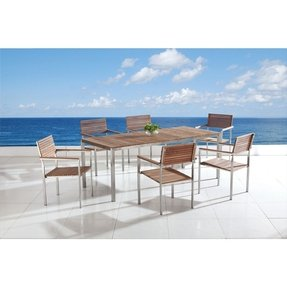 Stainless patio furniture