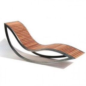 Stainless steel outdoor chairs