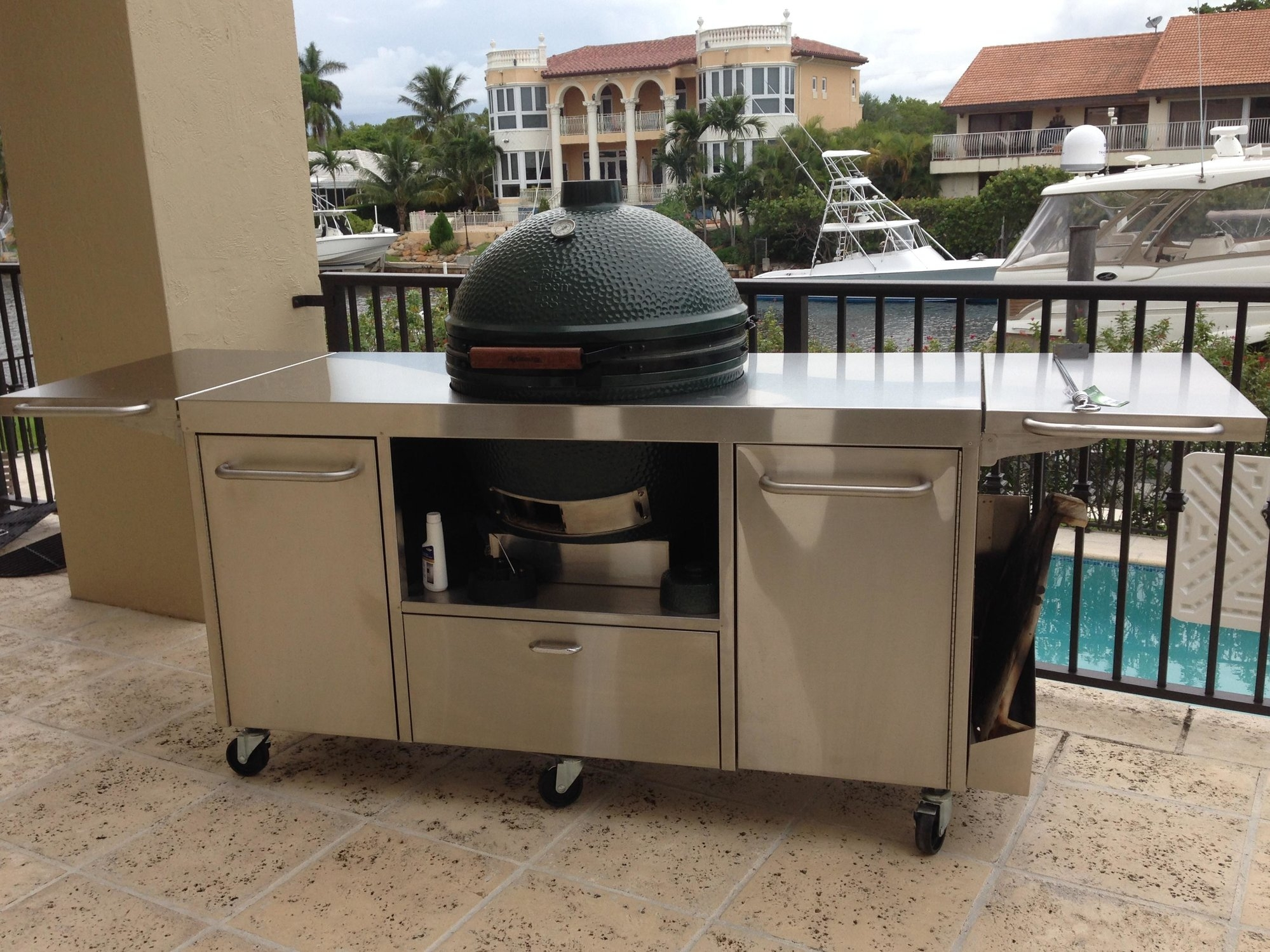 Stainless Steel Patio Tables
