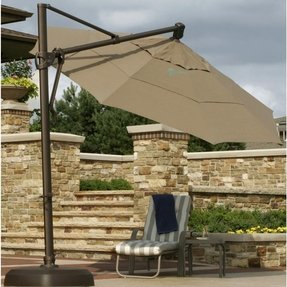 Sunbrella cantilever patio umbrella 3