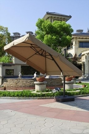 sunbrella cantilever patio umbrella - foter 9 Foot Umbrella Base