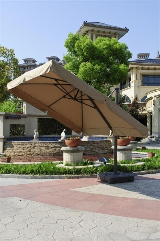 Delightful Sunbrella Cantilever Patio Umbrella