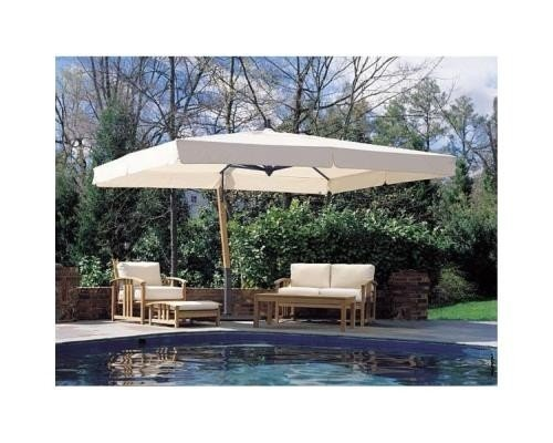 Waterproof cantilever umbrella