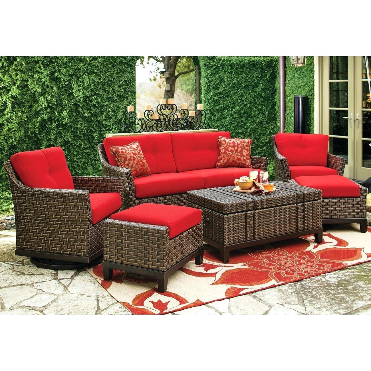 Wicker Deep Seating Patio Furniture 7