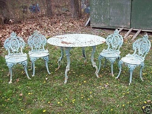 Wrought Iron Bistro Sets