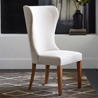 Albie wing dining chair