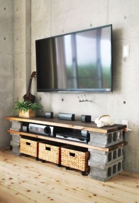 All wood tv stands