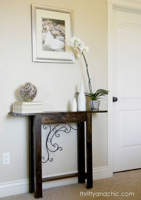 Narrow Sofa Table Ideas On Foter